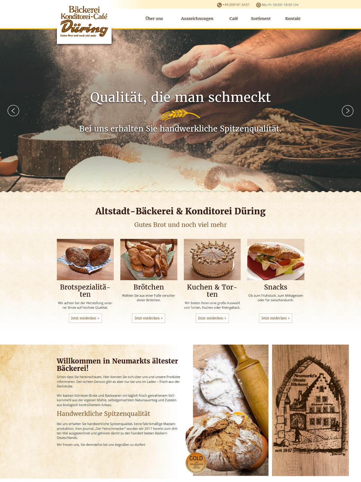 Date-Website für Feinschmecker