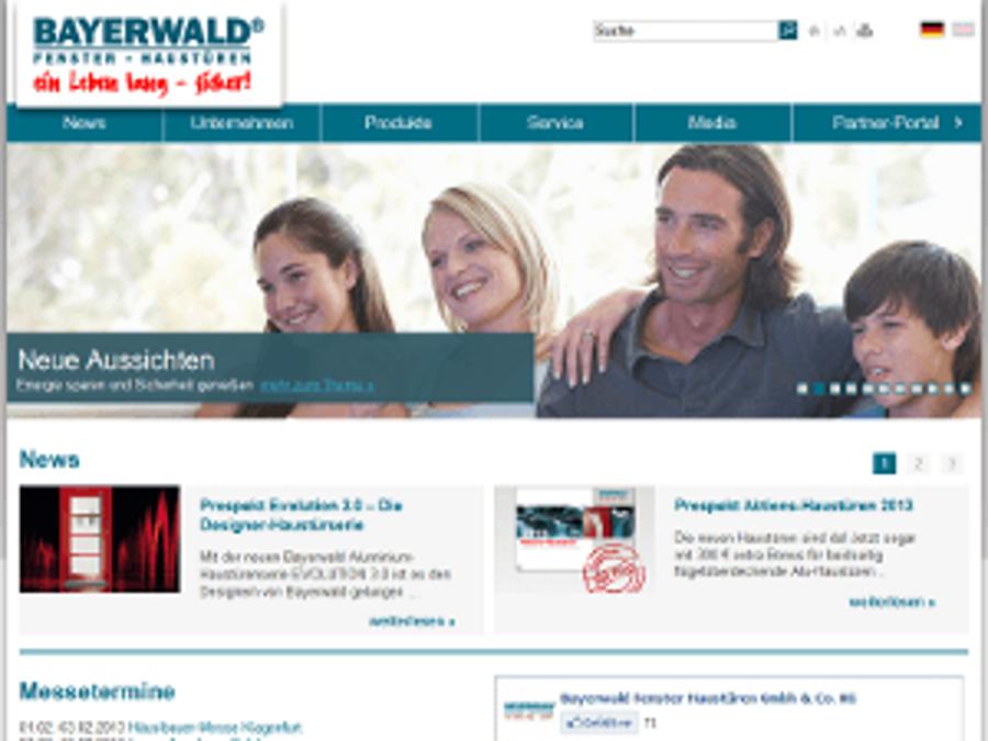 Bayerwald Fenster + Türen startet online durch