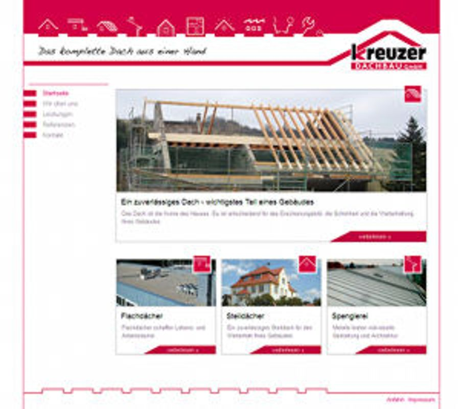 Kreuzer Dachbau im neuen Look online