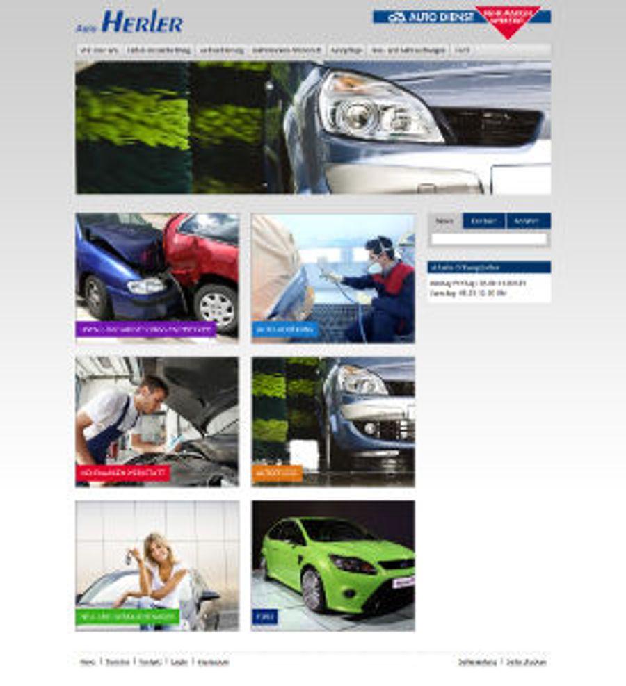 Auto Herler frisch und kompakt im Web