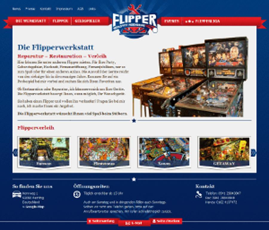 Spiel ab für die Flipperwerkstatt Regensburg