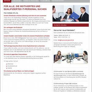 it-personal-gesucht.de – die Website für Unternehmen