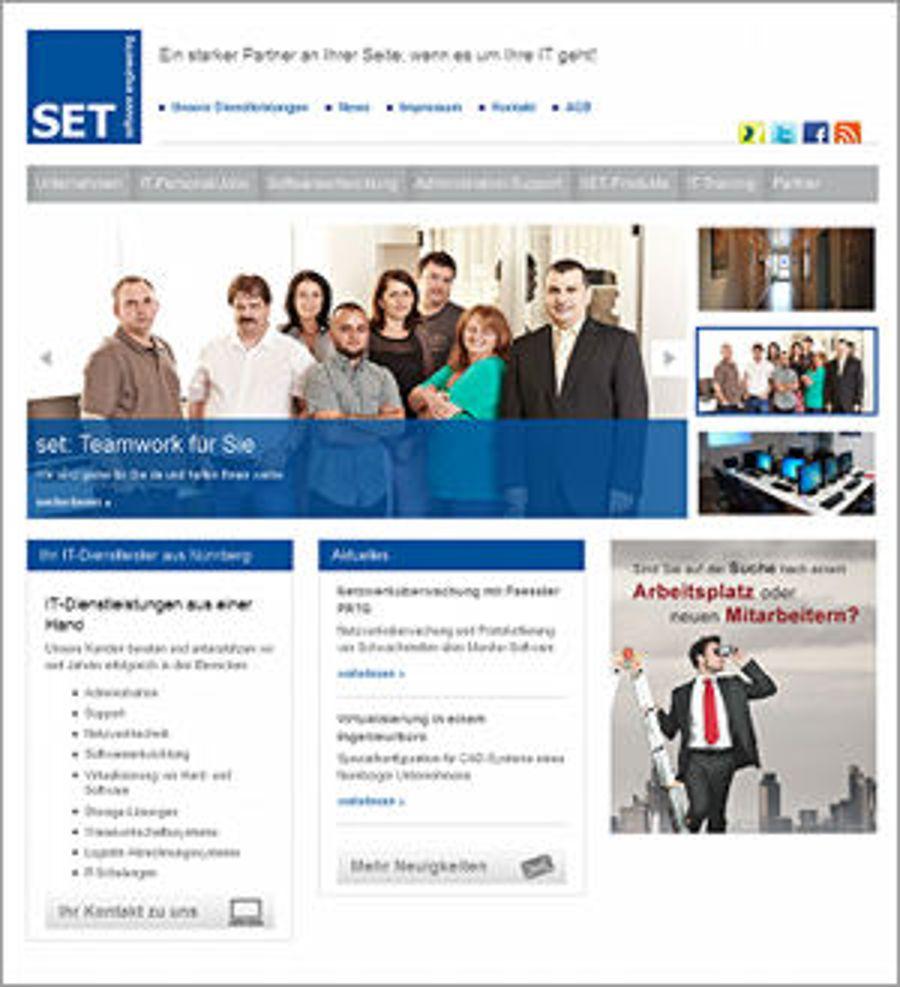 Online-Hattrick mit der SET GmbH