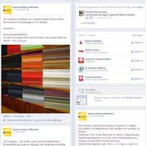 Aktives Gemeinschaftswerk: Die Facebook-Seite der Regens-Wagner-Stiftungen