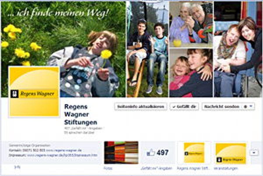 Regens-Wagner-Stiftungen erfolgreich auf Facebook