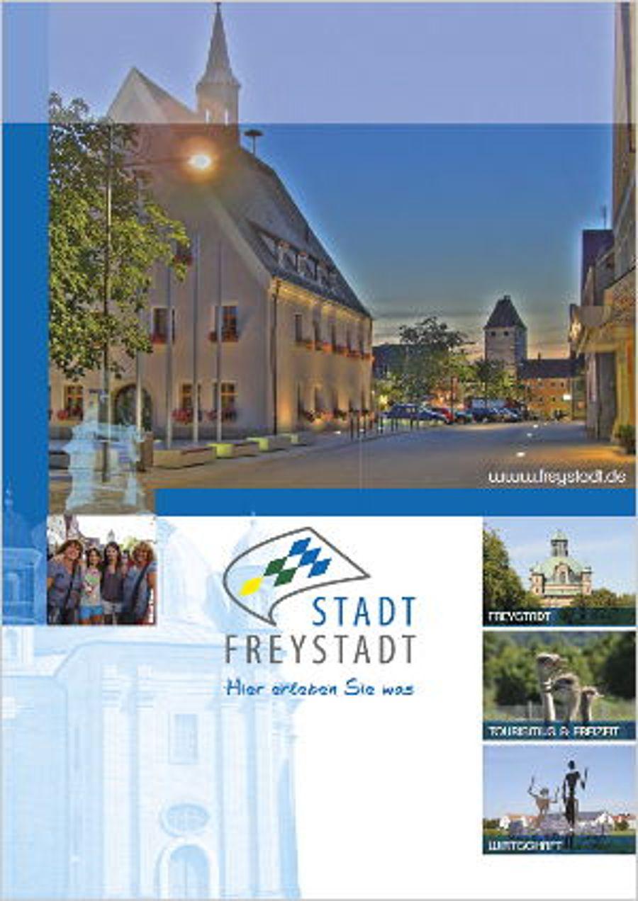 Neue Imagebroschüre für Freystadt