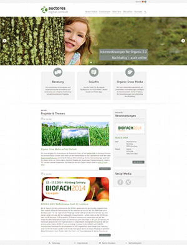 Organic Cross Media auf der Biofach