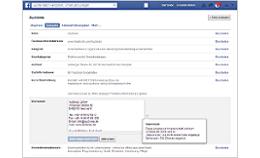 Facebook führt Impressumsfeld ein