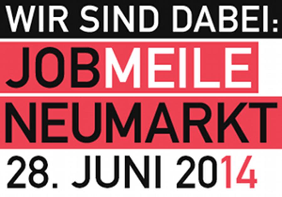 Auctores auf der Jobmeile Neumarkt 2014