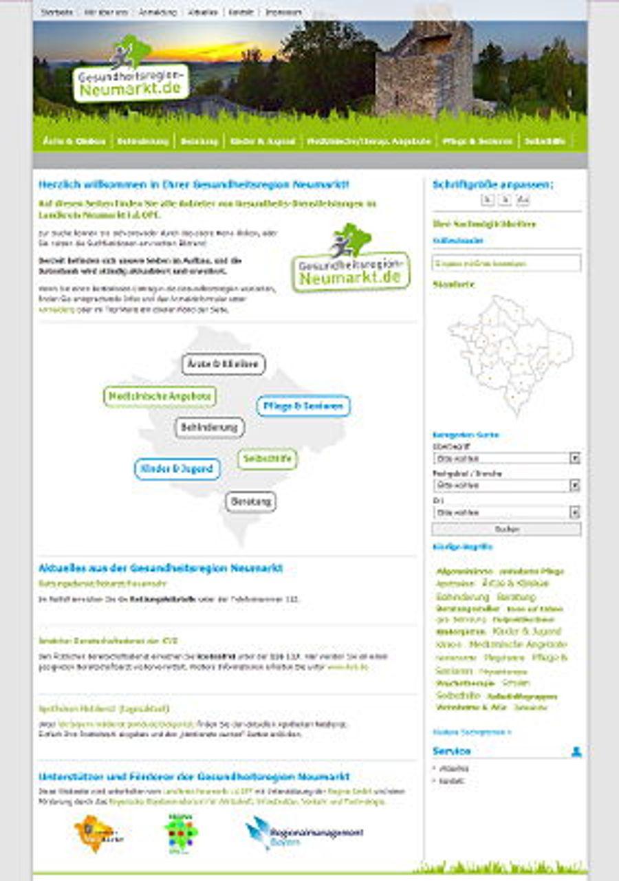 Gesundheitsregion Neumarkt: Alles im Blick