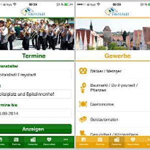 Alles im Blick mit der Freystadt-App