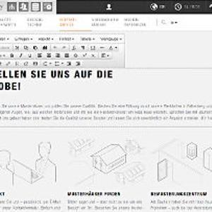 Der neue Editor ermöglicht das Bearbeiten direkt in der Seite.