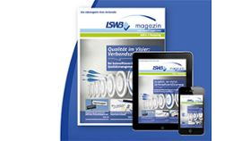 Das neue LSWB-Magazin: Viele Kanäle, noch mehr Information, eine Botschaft