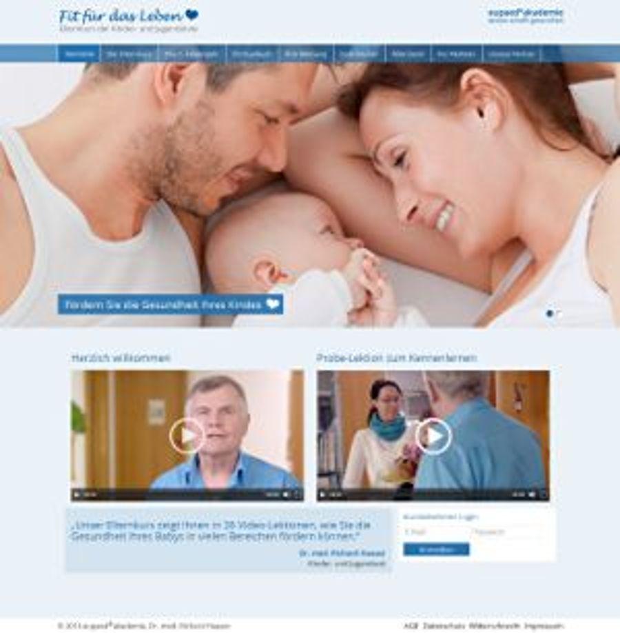 Fit für das Leben: Onlinekurs für Eltern