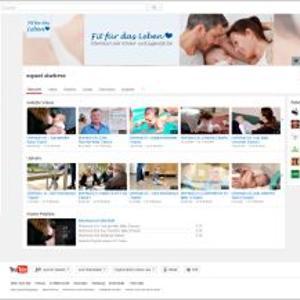Der Youtube-Kanal für Promotion