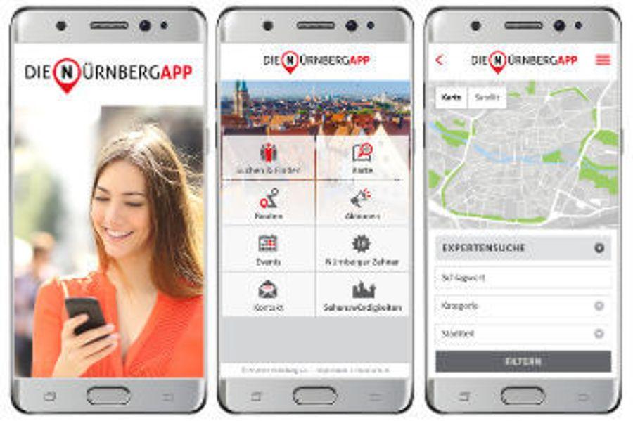 Auctores macht Einkaufserlebnis in Nürnberg mobil