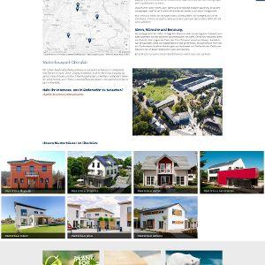 Über die Hausdatenbank lassen sich Entwürfe, Referenz- und Musterhäuser durchstöbern