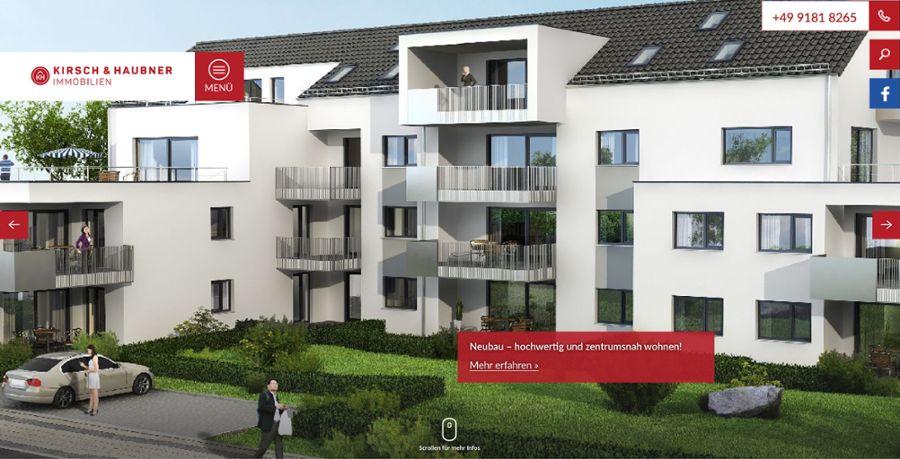 Im responsive Design: Die neue Website von Kirsch & Haubner Immobilien