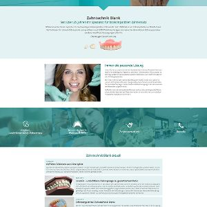 Zahntechnik Blank: Neue Website im responsive Design