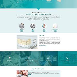 BlanCo Fräszentrum: Nach Design Refresh im einheitlichen Look mit Zahntechnik Blank