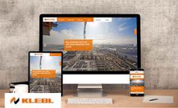 Relaunch für Klebl GmbH: Neue Optik, neue Technik