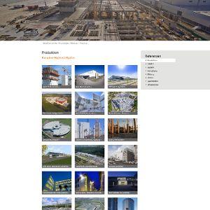 Die Referenzdatenbank demonstriert  anhand zahlreicher Projekte die Klebl-Kompetenz im Fertigteilbau
