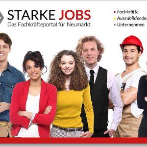 Das neue Portal starke-jobs.de soll Unternehmen und Bewerber im Landkreis Neumarkt zusammenbringen.