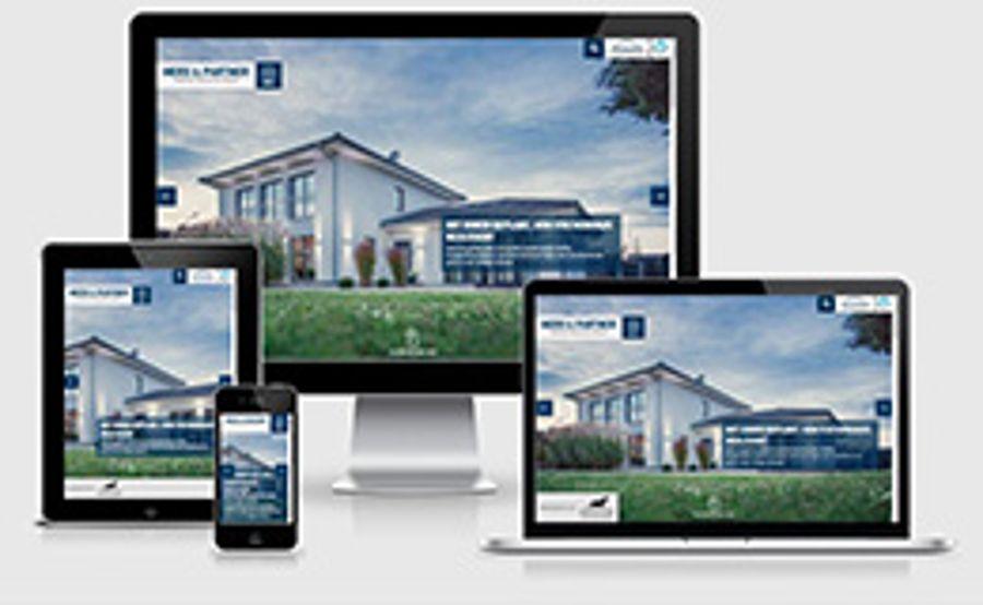 merx-fertighaus.de: technisch und optisch auf dem neuesten Stand