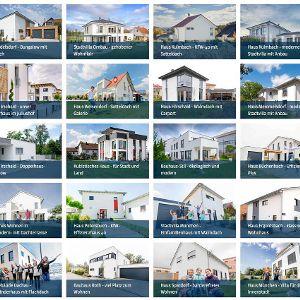 Komfortabel zu pflegende Häuserdatenbank