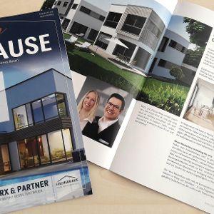 Wertiges Merx-Kundenmagazin Unser Zuhause
