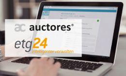 Auctores wird Entwicklungspartner von etg24
