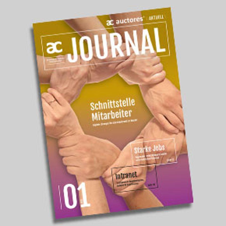 Druckfrisch: das neue Auctores Journal 01/2019