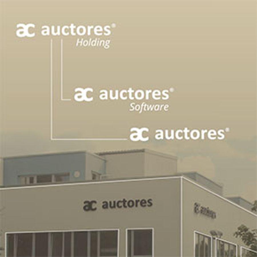 Neue Firmenkonstellation: Die Bereiche Software und Agentur sind nun Unternehmen der neu gegründeten Auctores Holding GmbH.