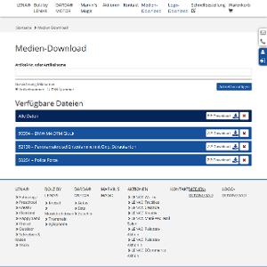 Per Medien-Download alle Produktdaten zur Hand, inklusive effektiver Suchfunktion.