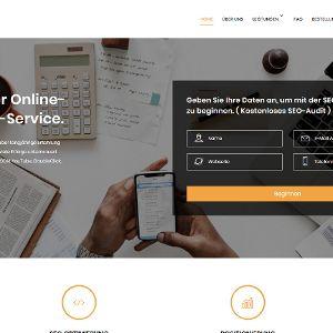 Täuschend seriös: Die Website der SEO-Spammer