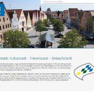 Optisch ansprechend und intuitiv bedienbar: Die neue Website der Stadt Freystadt