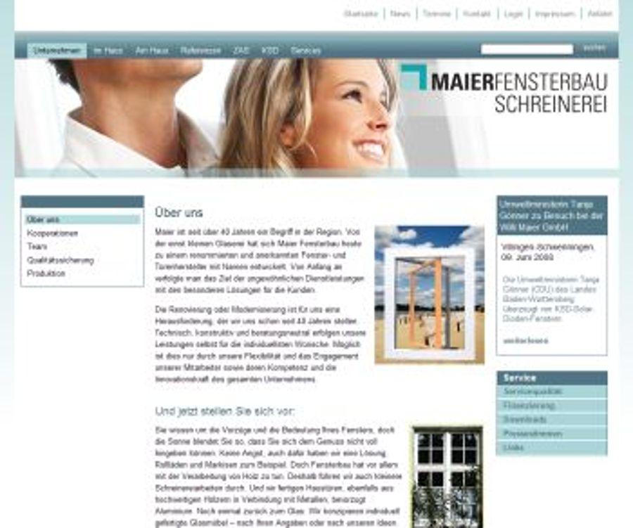 Maier Fensterbau Villingen Schwenningen geht online