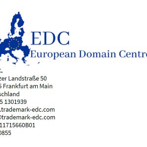 Auch der Briefkopf des European Domain Centre sollte stutzig machen.