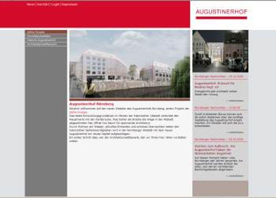 alpha-gruppe mit Entwicklungsprojekt Augustinerhof Nürnberg
