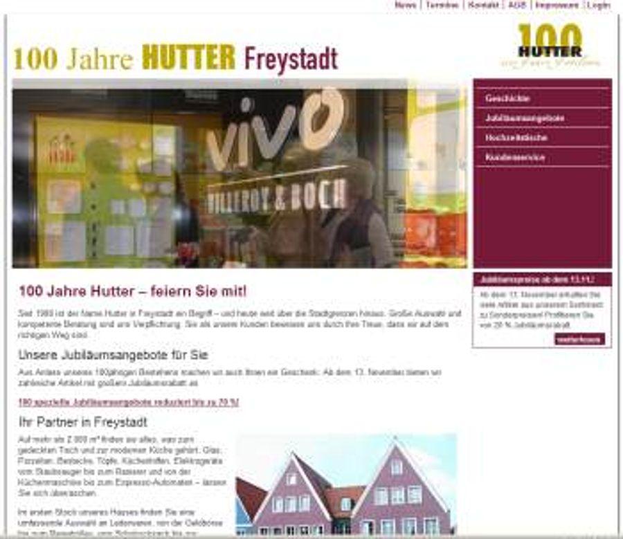 100 Jahre Jubiläum bei Hutter in Freystadt