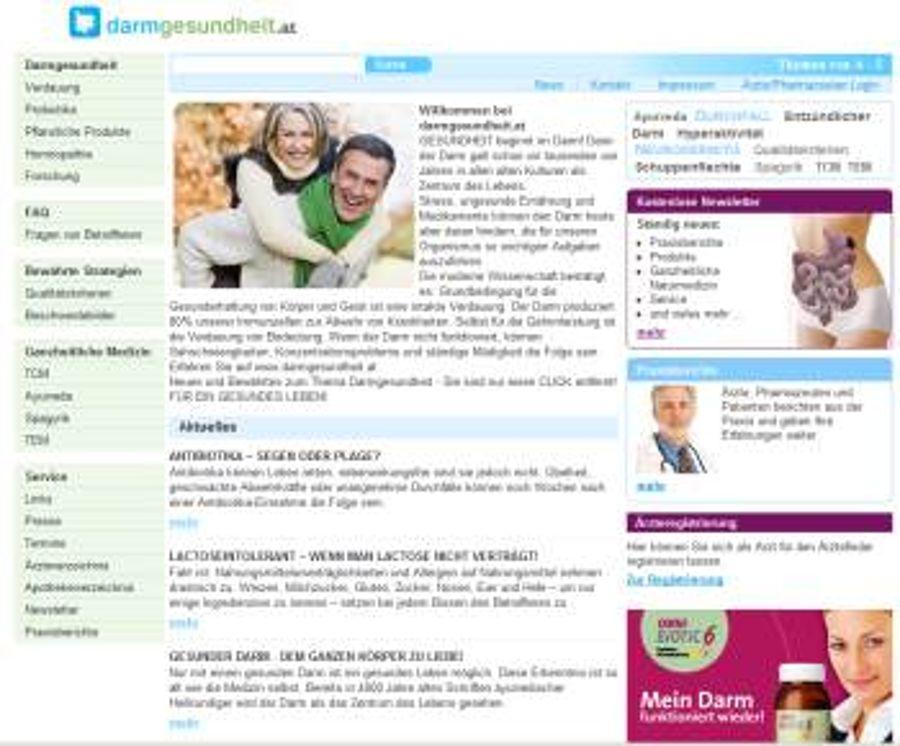 Darmgesundheit.at geht online