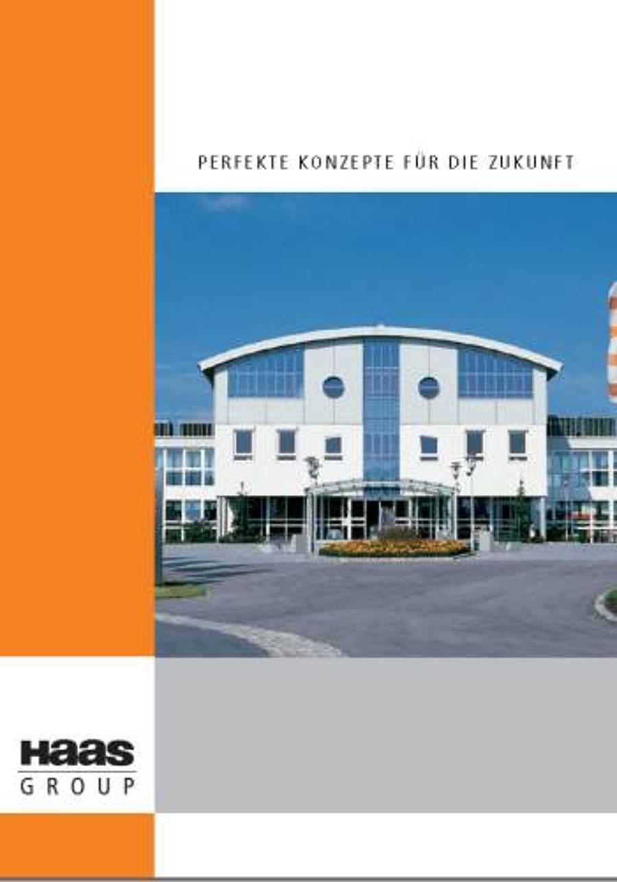 Haas Group mit neuer Imagebroschüre zur Bau 2009