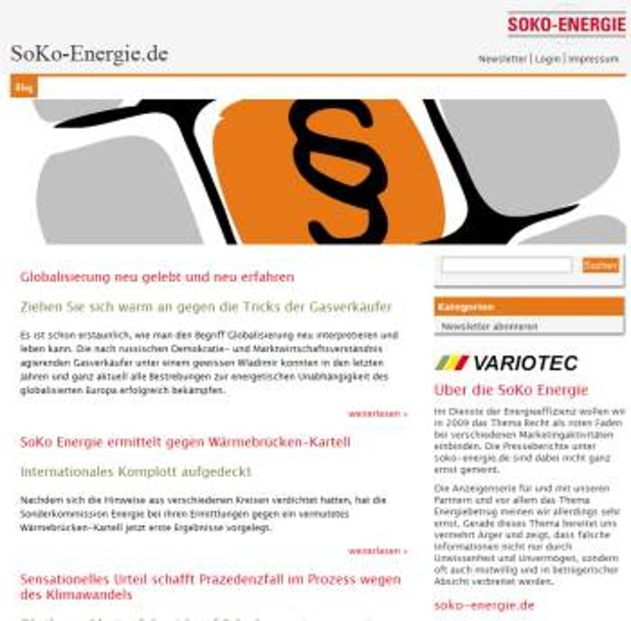 Marketingkampagne SOKO-Energie mit Variotec