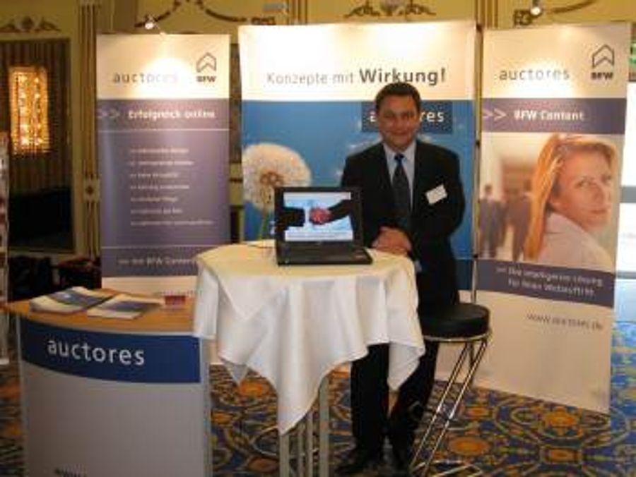 Auctores auf der BFW Regionalkonferenz in München