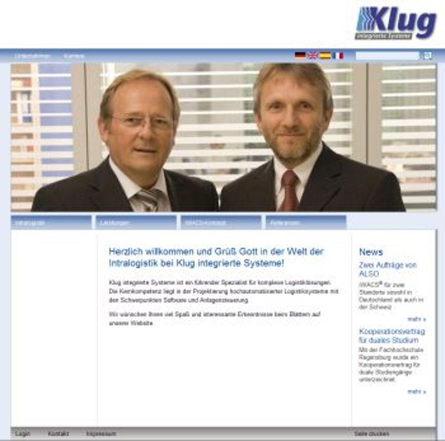 Klug integrierte Systeme geht online