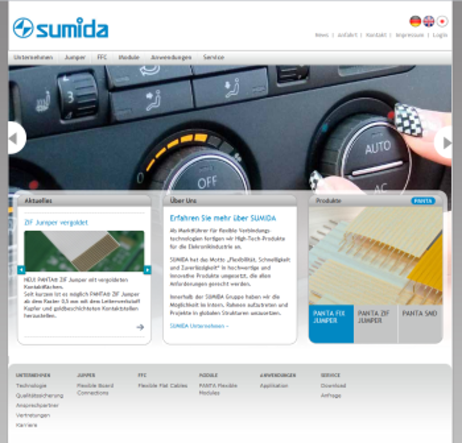 SUMIDA Flexcon in Radeberg geht online