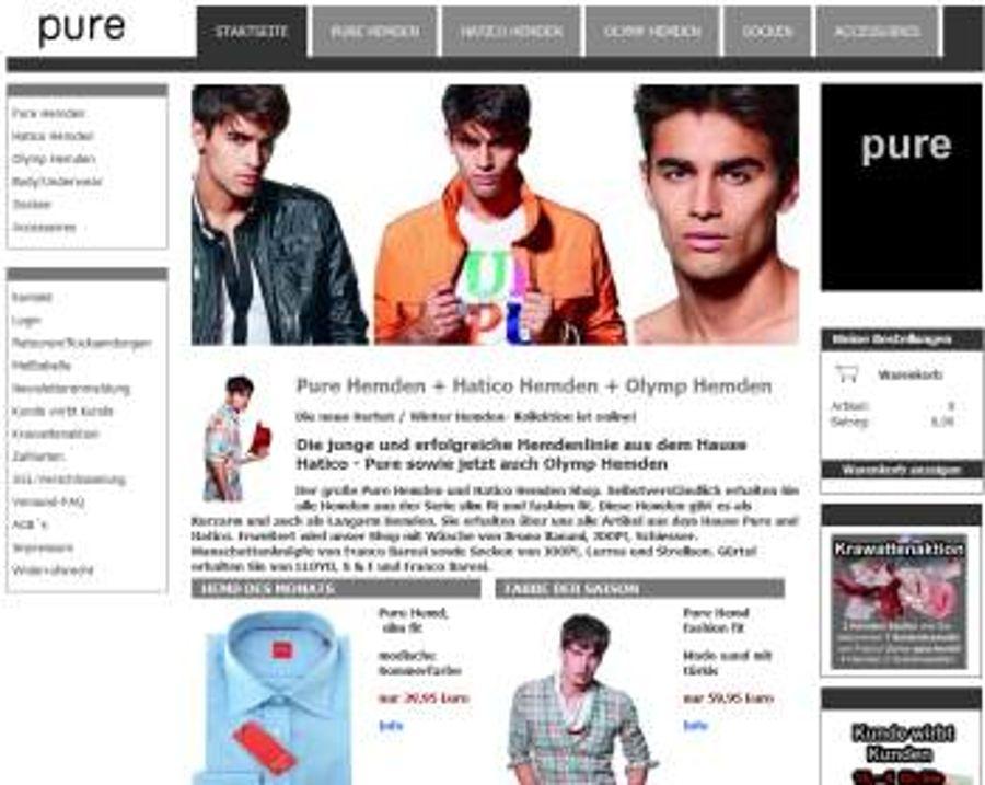 neue-hemden.de geht online