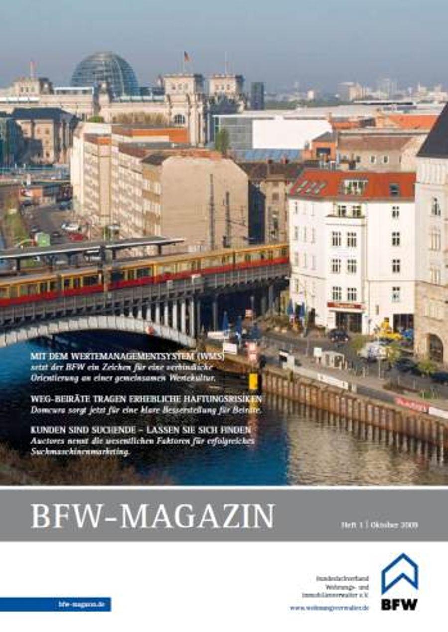 BFW-Magazin auf der EXPO REAL