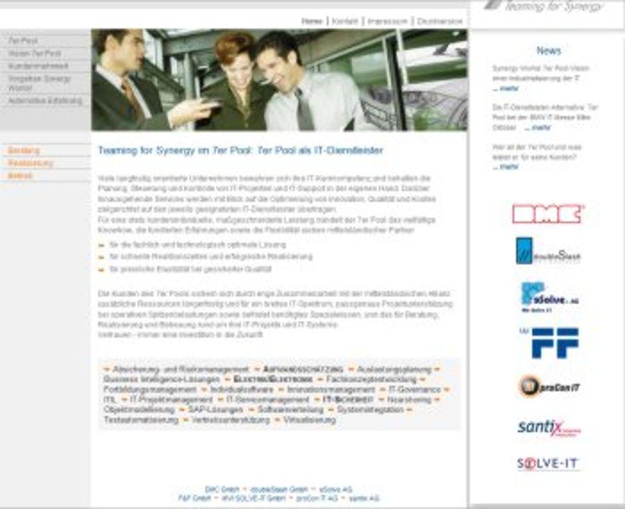 7er-Pool - die Allianz von sieben IT-Spezialisten ist online