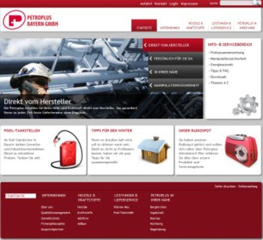 Petroplus Bayern GmbH – früher ESSO Bayern – geht online